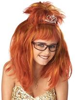 Perruque Auburn de cauchemar de Reine du bal Perruque Femme Classique