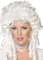 Perruque baroque Perruque Femme Classique