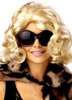 Perruque Blonde de la Jet-Set Perruque Femme Classique