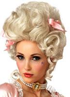 Perruque Marie Antoinette Blonde Perruque Femme Classique