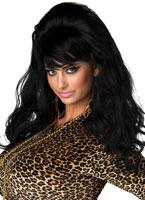 Vegas Baby perruque noire Perruque Femme Classique
