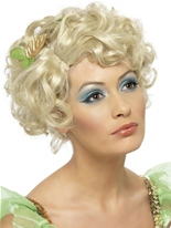 Fée blonde perruque Perruque Femme Classique
