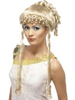 Perruque déesse grecque Perruque Femme Classique