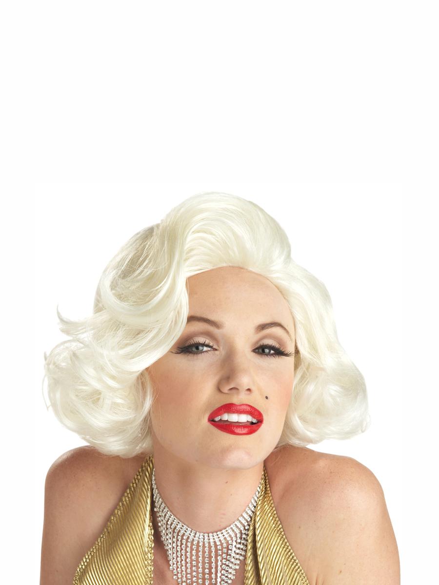 Perruque Film & Série TV Perruque Blonde classique de Marilyn