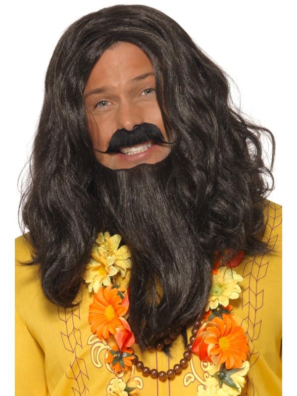 Perruque Film & Série TV Le Love Guru perruque et barbe