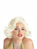 Perruque Blonde classique de Marilyn Perruque Film & Série TV