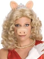 Miss Piggy perruque Perruque Film & Série TV