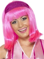 Lazy Town Stephanie Wig Perruque Film & Série TV