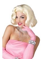 Diamants Marilyn Wig Perruque Film & Série TV