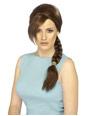 Perruque Film & Série TV Lara Croft Tomb Raider perruque brune