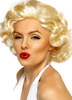 Perruque de Marilyn Monroe Bombshell Perruque Film & Série TV