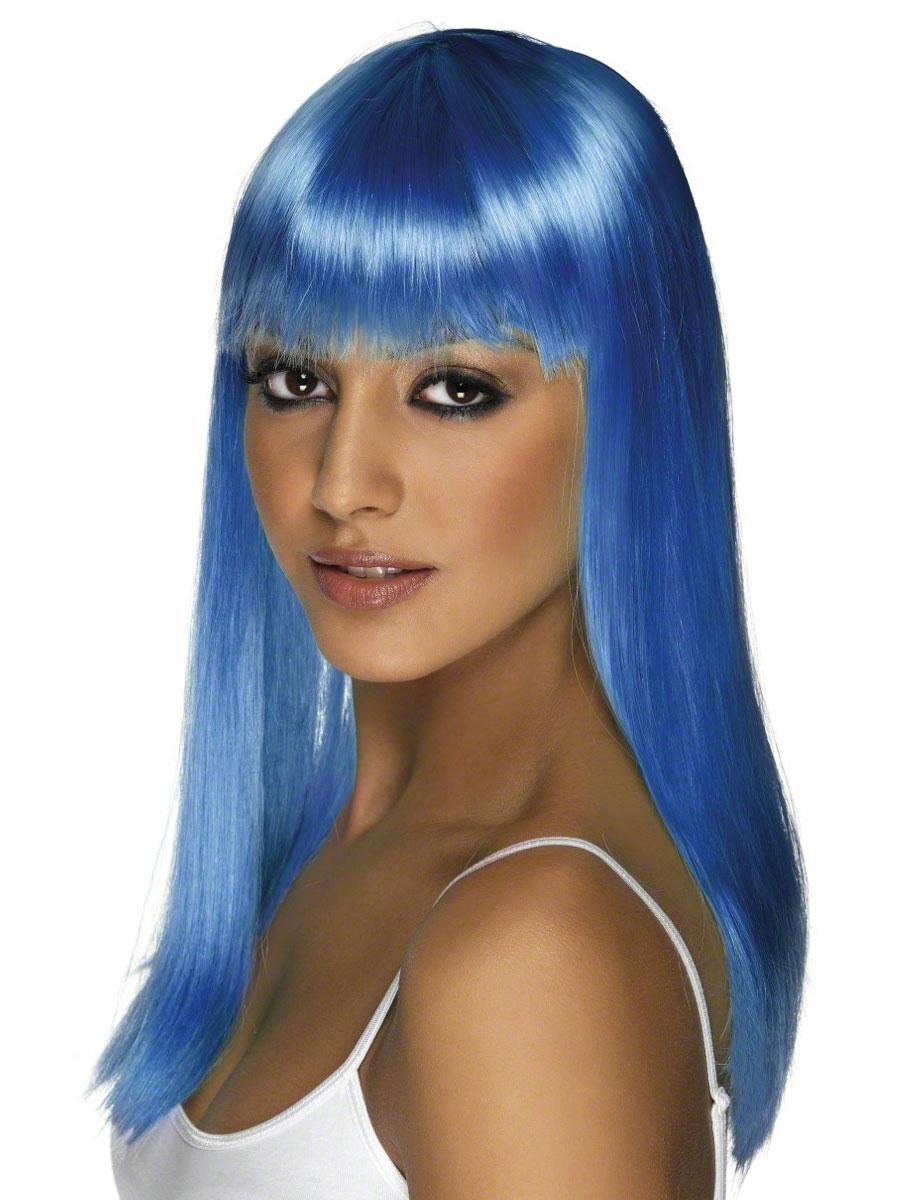 Perruque Glamour Ladies Perruque Glamourama Neon bleu