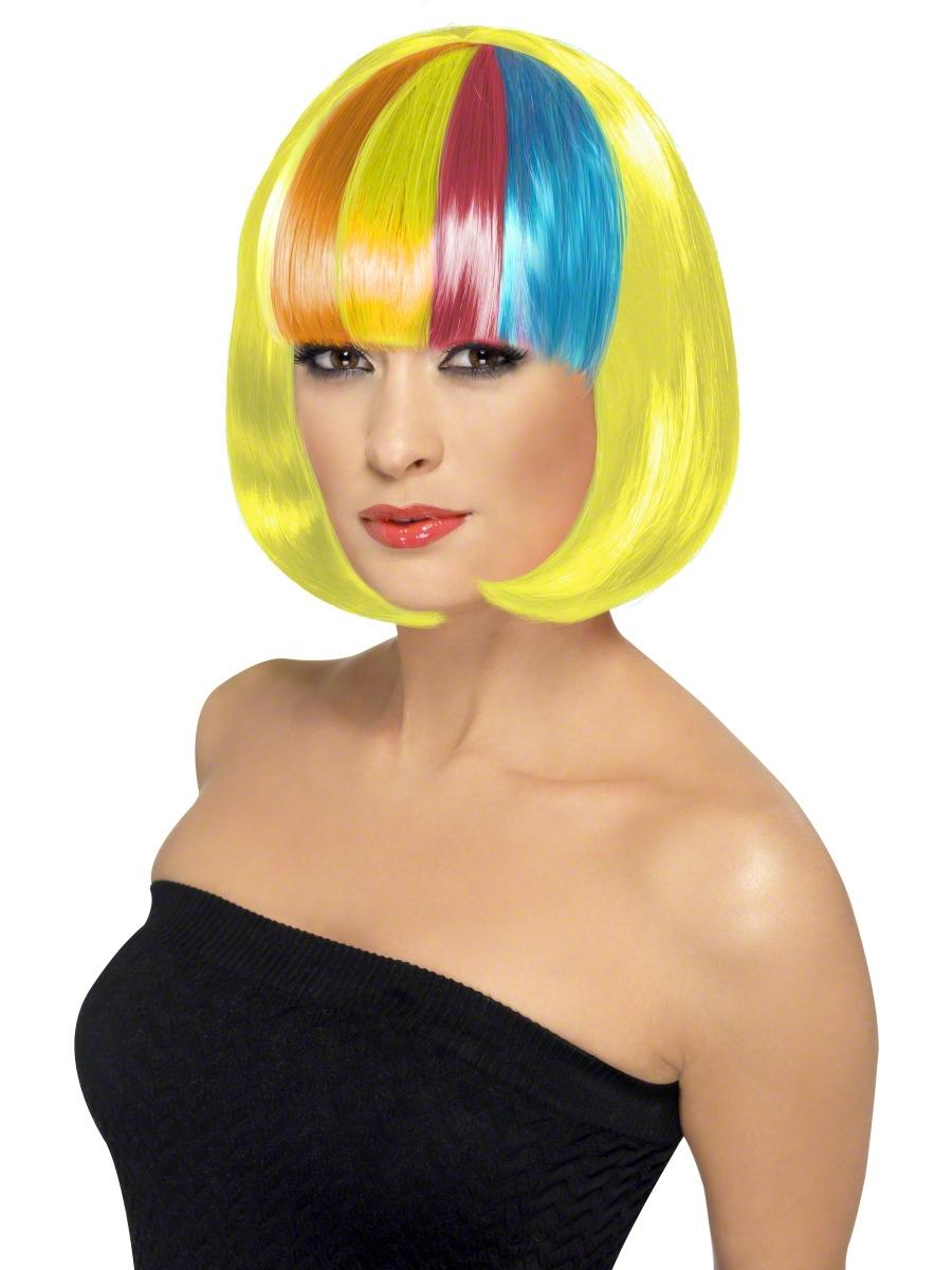 Perruque Glamour Ladies Perruque de Partyrama jaune