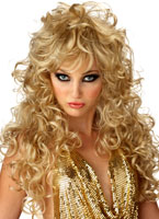 Perruque Blonde de séduction Perruque Glamour Ladies