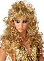Perruque Blonde de séduction Perruque Glamour Ladies