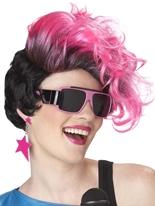 Perruque rose chaud de nouvelles vagues Perruque Glamour Ladies