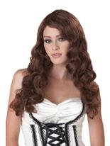 Perruque brune de passion Perruque Glamour Ladies