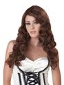 Perruque Glamour Ladies Perruque brune de passion