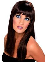 Perruque Glamourama brune Perruque Glamour Ladies