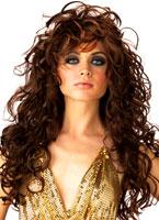 Séduction Brown perruque Perruque Glamour Ladies
