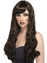 Désir perruque brune Perruque Glamour Ladies