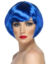 Babe perruque bleu Perruque Glamour Ladies