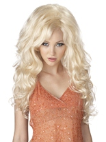 Perruque blonde Bombshell Perruque Glamour Ladies