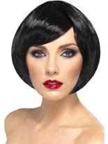 Bob Babe perruque noir Perruque Glamour Ladies