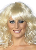 Blonde perruque Foxy Perruque Glamour Ladies
