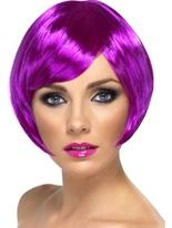 Bob Babe perruque violet Perruque Glamour Ladies