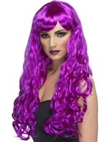 Désir perruque violet Perruque Glamour Ladies