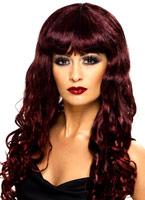Perruque de sirène frisée Deep Purple Perruque Glamour Ladies