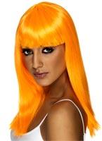 Perruque Glamourama Neon Orange Perruque Glamour Ladies