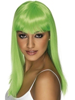 Perruque Glamourama Neon Green Perruque Glamour Ladies
