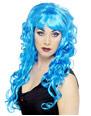 Perruque Glamour Ladies Sirène perruque bleu