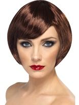 Bob Babe perruque brune Perruque Glamour Ladies
