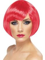 Bob Babe perruque Fuchsia Perruque Glamour Ladies