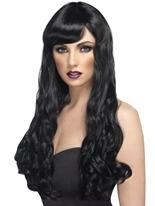 Désir perruque noir Perruque Glamour Ladies