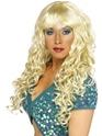 Perruque Glamour Ladies Sirène bouclés Perruque Blonde
