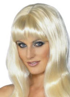 Mystique perruque Blonde Perruque Glamour Ladies