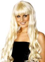 Paris perruque Blonde Perruque Glamour Ladies