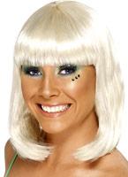 Parti perruque Blonde Perruque Glamour Ladies