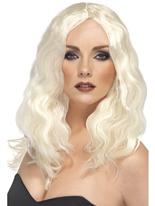 Superstar perruque platine Perruque Glamour Ladies