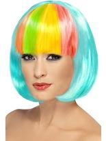 Perruque Partyrama Aqua Perruque Glamour Ladies