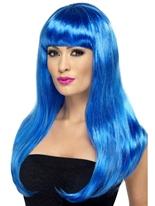 Bleu Babelicious perruque Perruque Glamour Ladies