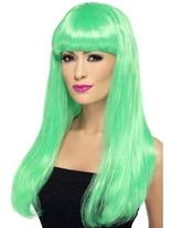 Vert Babelicious perruque Perruque Glamour Ladies