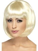 Lumière Blonde perruque de Partyrama Perruque Glamour Ladies