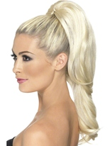 Clip blonde Divinity sur Extension de cheveux Perruque Glamour Ladies