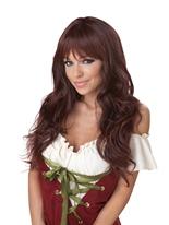 Perruque brune coquette Perruque Glamour Ladies