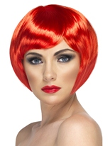 Babe perruque rouge Perruque Glamour Ladies